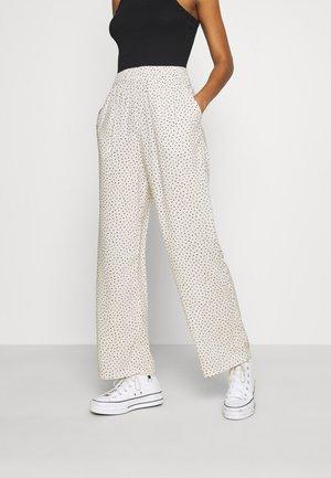 Pantalon classique - white dusty light