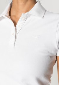 Hollister Co. - SHORT SLEEVE CORE - Poloskjorter - white - 4