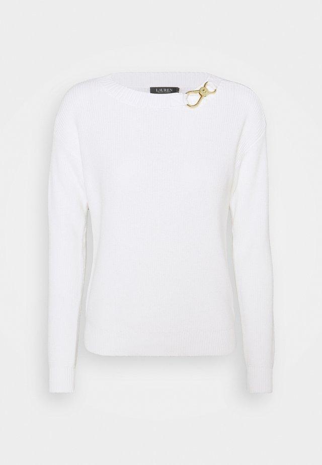 YAMINAH - Pullover - white