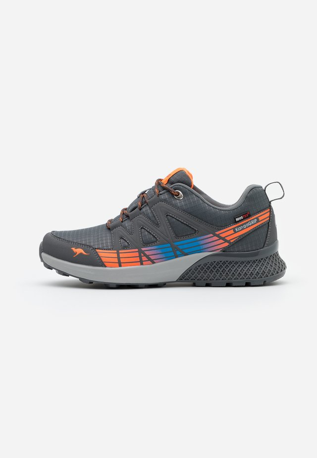 K-TRUN RTX - Trainers - steel grey/turquoise