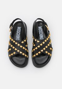 MOSCHINO - Platform sandals - nero - 4