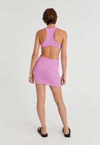 PULL&BEAR - Shift dress - pink - 2