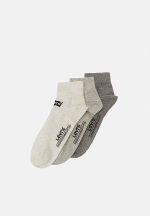 MID CUT BATWING LOGO 3 PACK  - Socks - grey combo