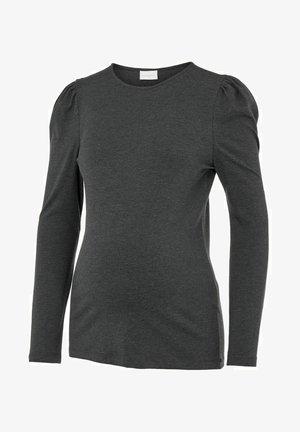 MLALICJA - Long sleeved top - dark grey melange