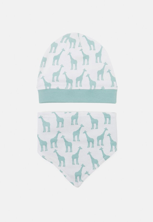 RETRO HAT BIB SET UNISEX - Skjerf - light teal