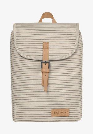 STRIPE - Rucksack - white/beige