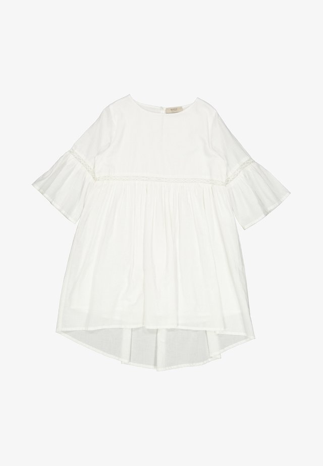 INDIA - Korte jurk - off white