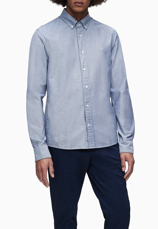 SLIM OXFORD - Formal shirt - calvin navy