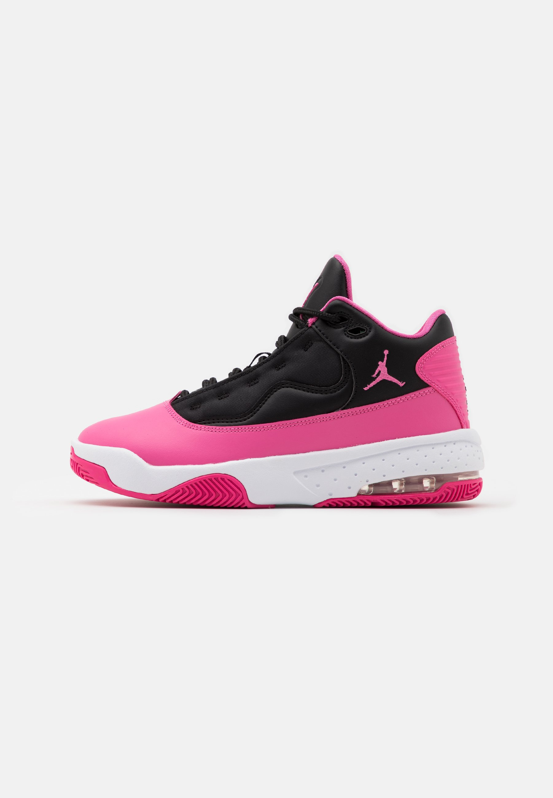 Jordan MAX AURA 2 UNISEX - Chaussures de basket - black/pinksicle ...