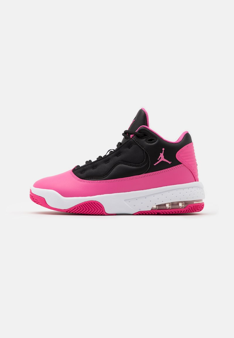 Jordan - MAX AURA 2 UNISEX - Basketball shoes - black/pinksicle/white