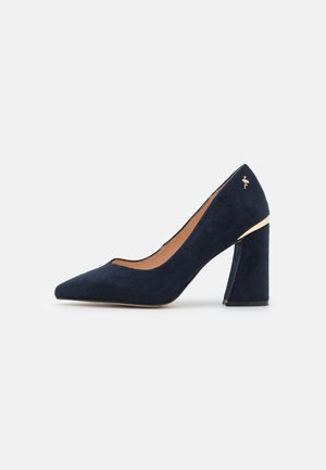 Classic heels - midnight blue