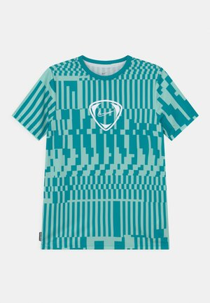 DRY UNISEX - T-shirt con stampa - light dew/aquamarine/white