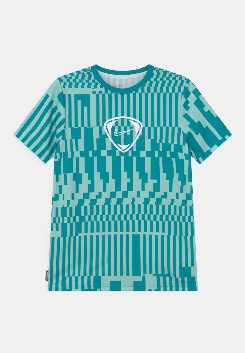 Nike Performance - DRY UNISEX - Print T-shirt - light dew/aquamarine/white