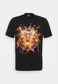 Just Cavalli - EXCLUSIVE - Print T-shirt - black - 3