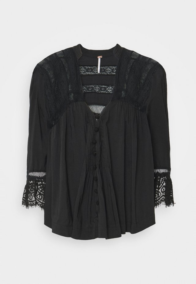 ESME BUTTONDOWN - Túnica - black