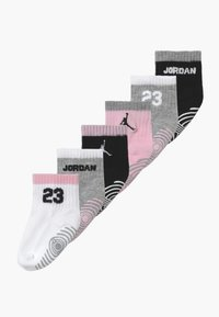 Jordan - LEGACY INFANT ANKLE 6 PACK - Sportovní ponožky - pink foam - 0