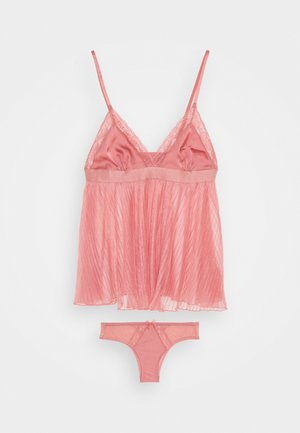 EVANGELINA CAMI SET - Pyjama - dusty rose