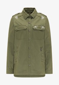 Lehká bunda - military green