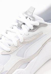 Puma - RS-X UNISEX - Tenisky - white/silver - 5