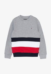 Tommy Hilfiger - GLOBAL STRIPE COLORBLOCK  - Sweater - grey - 3