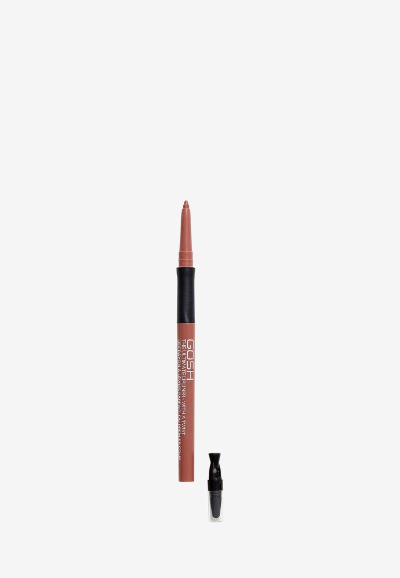 Gosh Copenhagen - THE ULTIMATE LIPLINER - Lip liner - 001 nougat crisp
