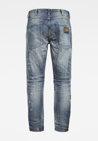 G-Star - 5620 3D ORIGINAL RELAXED TAPERED - Jeans relaxed fit - antic faded tarnish blue destroyed - 1
