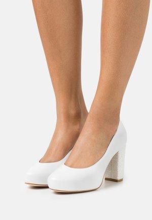 Platform heels - fantasia blanco