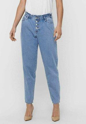 ONLCUBA LIFE SLOUCHY - Straight leg jeans - light blue denim