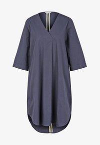 Frogbox - AUS POPELINE - Korte jurk - blue - 3
