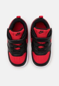 Nike Sportswear - COURT BOROUGH 2 - Sneakers - black/university red/white - 3