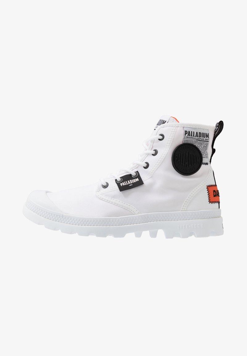 Palladium - PAMPA LITE OVERLAB - High-top trainers - white