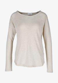 Rich & Royal - CAFFEE LATTE - Long sleeved top - beige - 0
