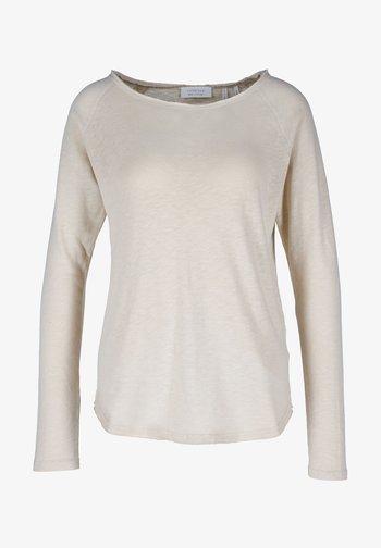 CAFFEE LATTE - Long sleeved top - beige