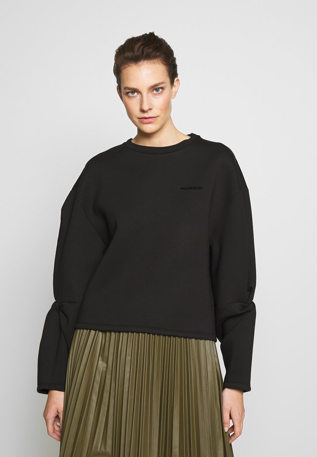 TWINE  - Collegepaita - black