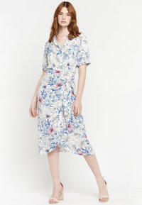 LolaLiza - FLORAL - Shirt dress - blue - 1