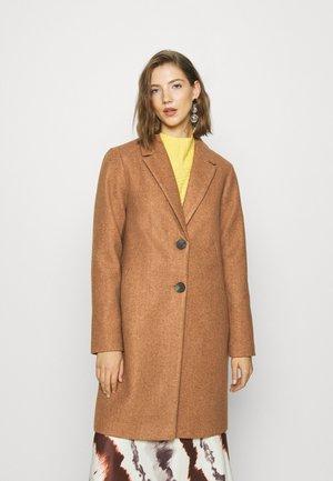 ONLNATALIA COAT - Zimní kabát - camel/melange