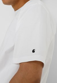 Carhartt WIP - BASE  - T-paita - white - 5