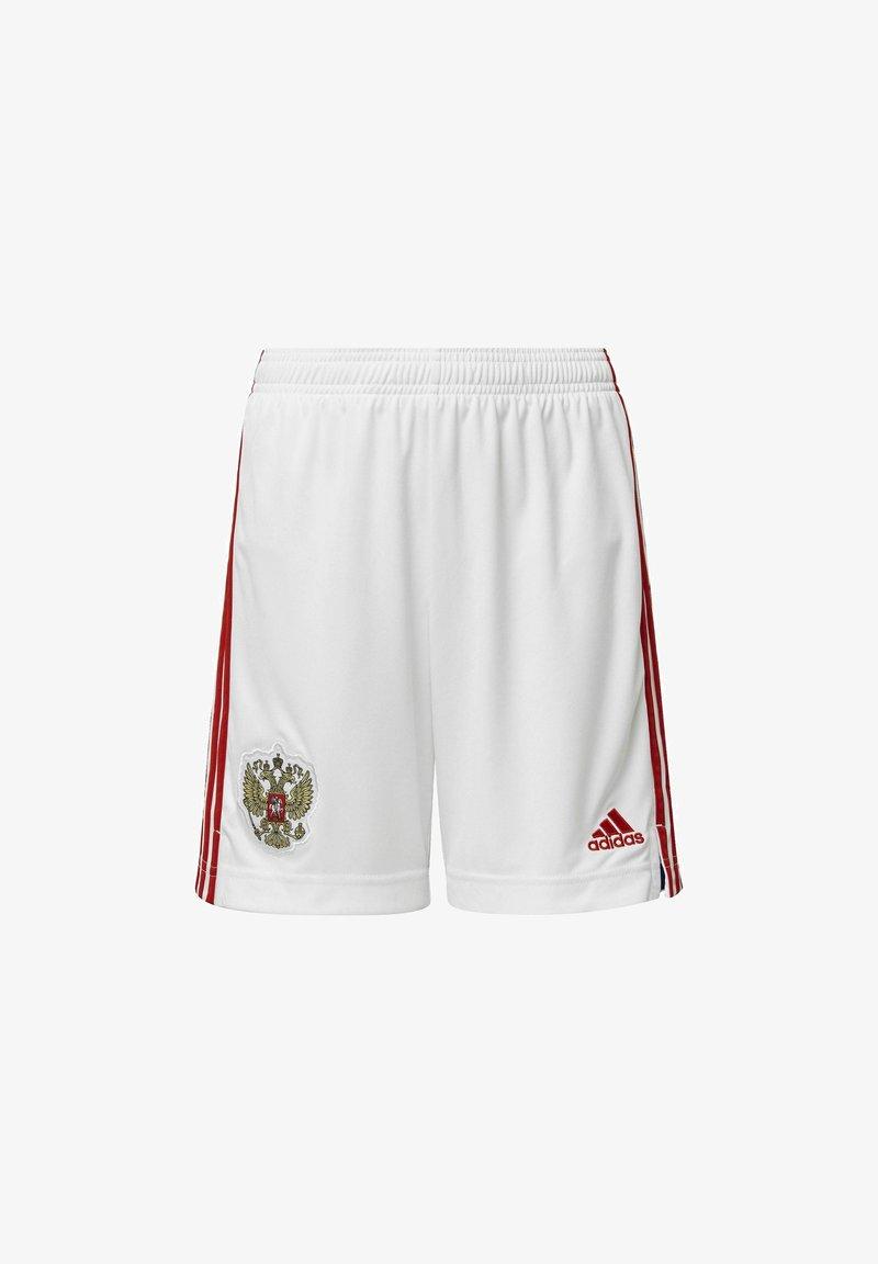 adidas Performance - RUSSIA RFU HOME AEROREADY SHORTS - Sports shorts - white
