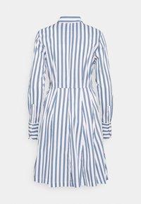 Steffen Schraut - SUMMER DRESS - Shirt dress - white/blue - 6
