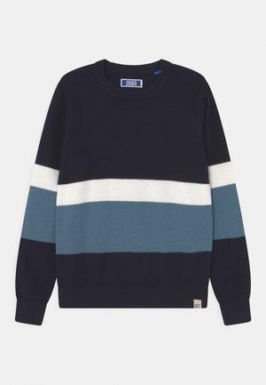 JORNEWPORT CREW NECK JR - Pullover - navy blazer