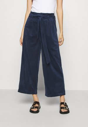 VMLONDYN PAPERBAG CULOT - Trousers - navy blazer