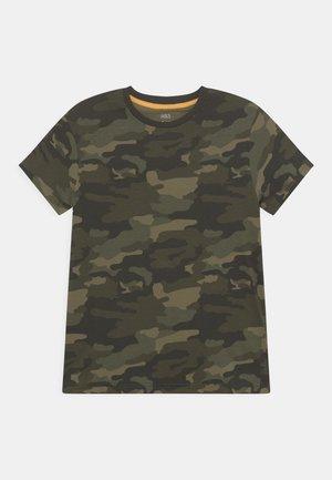 CAMO TEE - T-shirt con stampa - multi-coloured