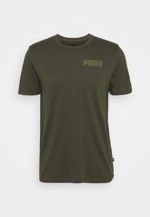 MODERN BASICS TEE - T-shirt med print - forest night