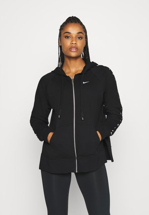 DRY GET FIT TAPING - veste en sweat zippée - black
