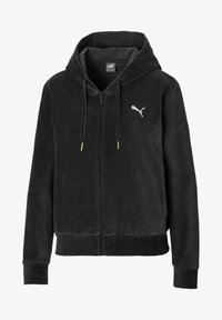 Puma - Zip-up hoodie - black - 0