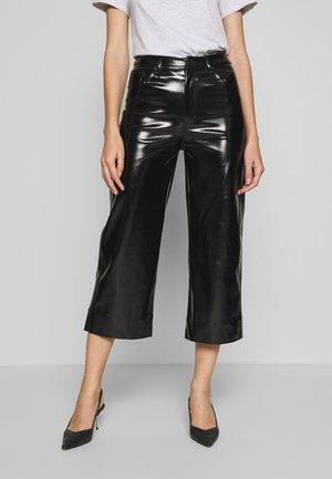 PIXIE PANT - Kalhoty - black