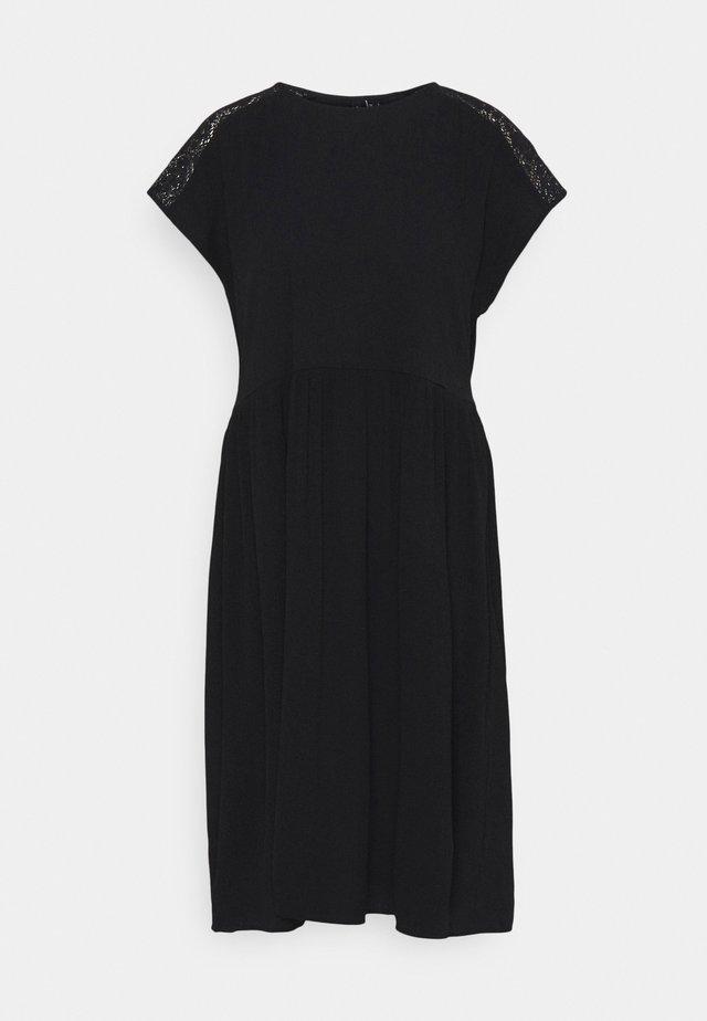 VMNANCY KNEE DRESS - Freizeitkleid - black