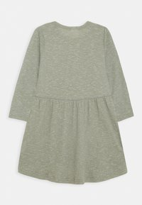 Cotton On - FREYA LONG SLEEVE DRESS 2 PACK - Gebreide jurk - henna/silver sage - 2