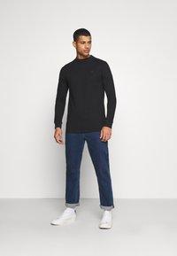 G-Star - KORPAZ MOCK  - Långärmad tröja - black - 1