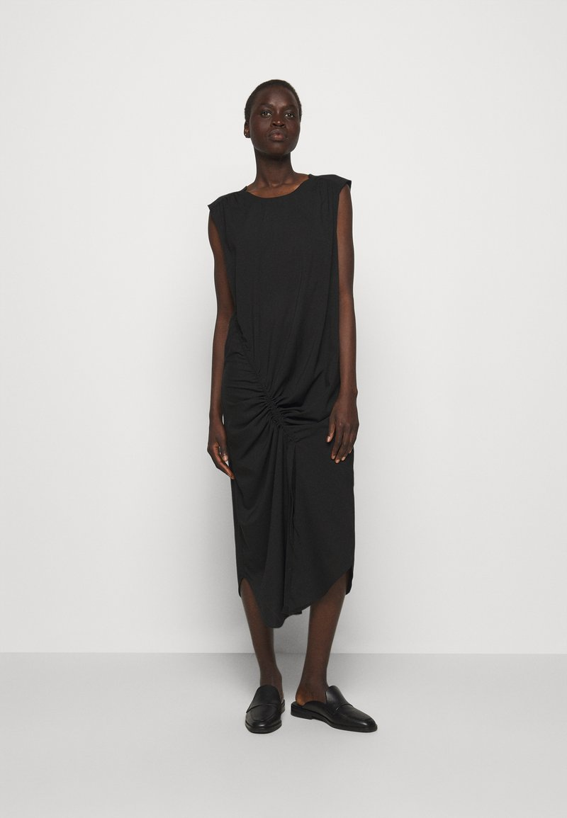 DESIGNERS REMIX - VALERIE SHOULDER DRESS - Day dress - black